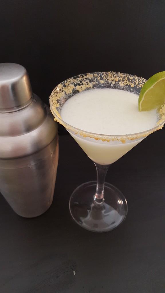 key lime pie martini