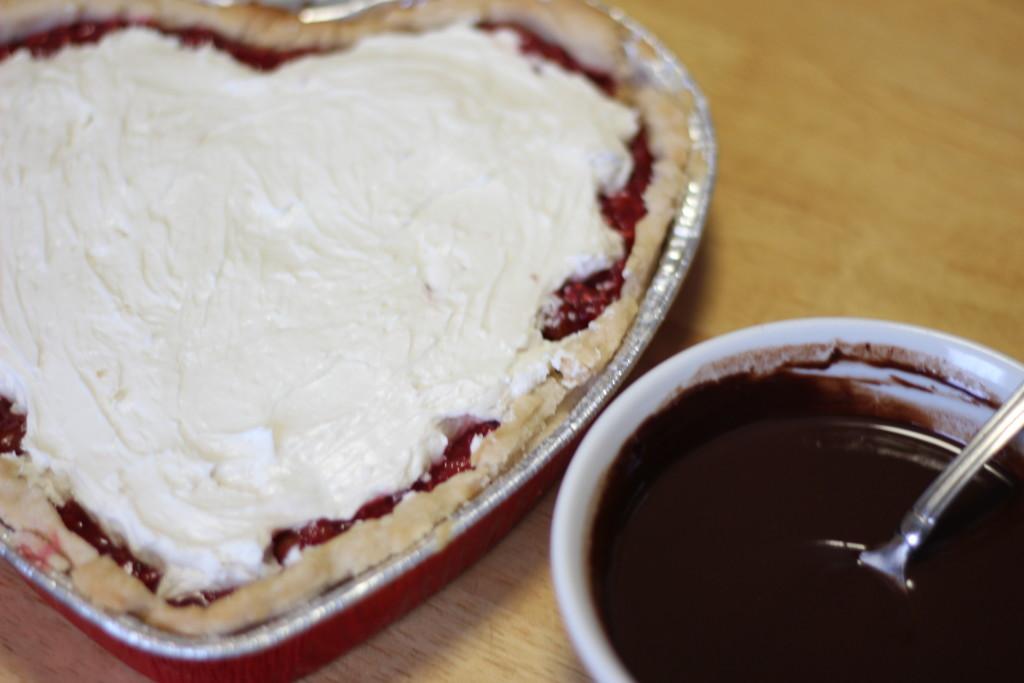 redberry cherry chocolate cream pie