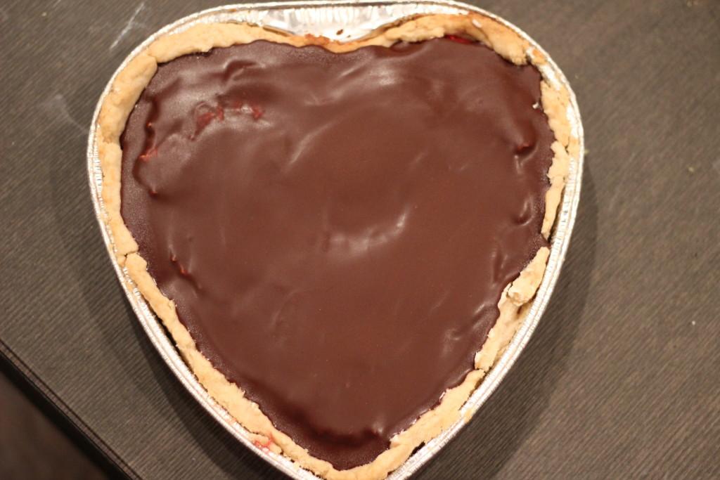 redberry cherry choc cream pie
