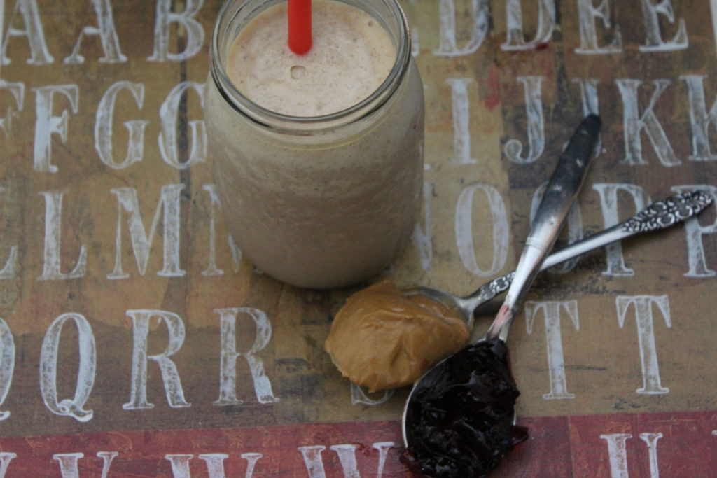 pb&j protein shake